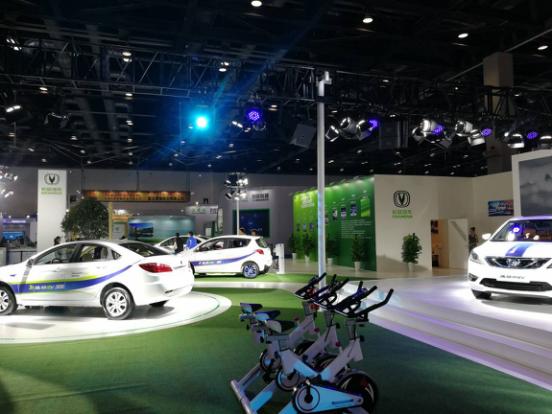 节能与新能源汽车展北京开幕 长安汽车布下重阵